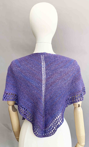 Midnight Gaze Shawl