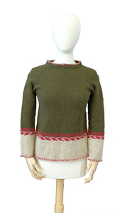 Red Vine Pullover #2244