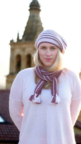 Rioja Beret and Scarf