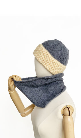 Sherpa Hat & Cowl Set