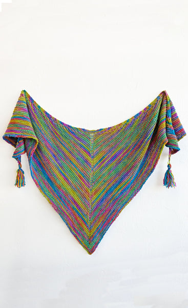 Spring Bouquet Shawl