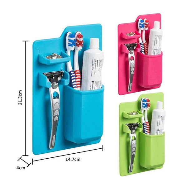 Bathroom Storage Set Organizer Toothbrush Holder