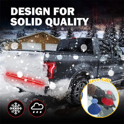 "ONLY $24.99 & BUY 2 FREE SHIPPING TODAY! 60"" Redline Triple LED Tailgate Light"