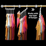 [Buy 10 Pack FREE SHIPPING] Magic Folding Hanger - Conveniently organize your clothes and  save space