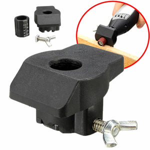 Sanding and Grinding Guide Attachment Locator Positioner for Rotary Tool