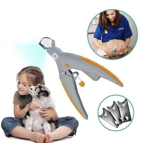 Pain-Free Pet Nail Clipper丨Also work for black nails .