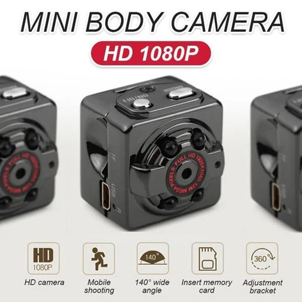 Mini Sports HD 1080P Camera(BUY 1 GET 2ND 10% OFF)