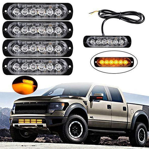 ONLY $9.99 & BUY 4 FREE SHIPPING TODAY!  Car Flexible Warning Strobe/Work Light
