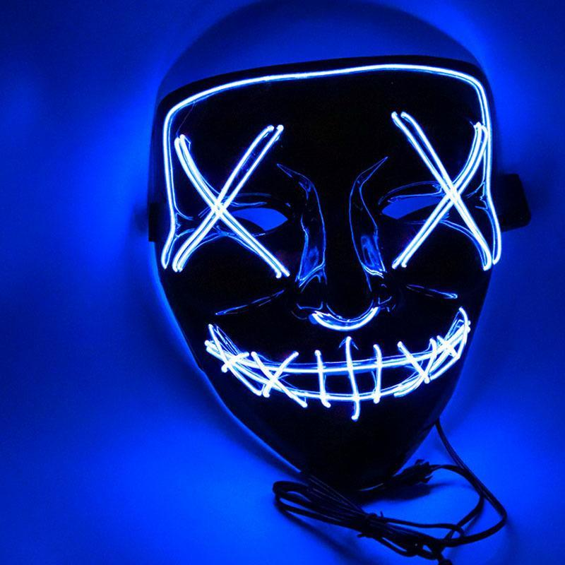 Interest LED Halloween Purge Mask