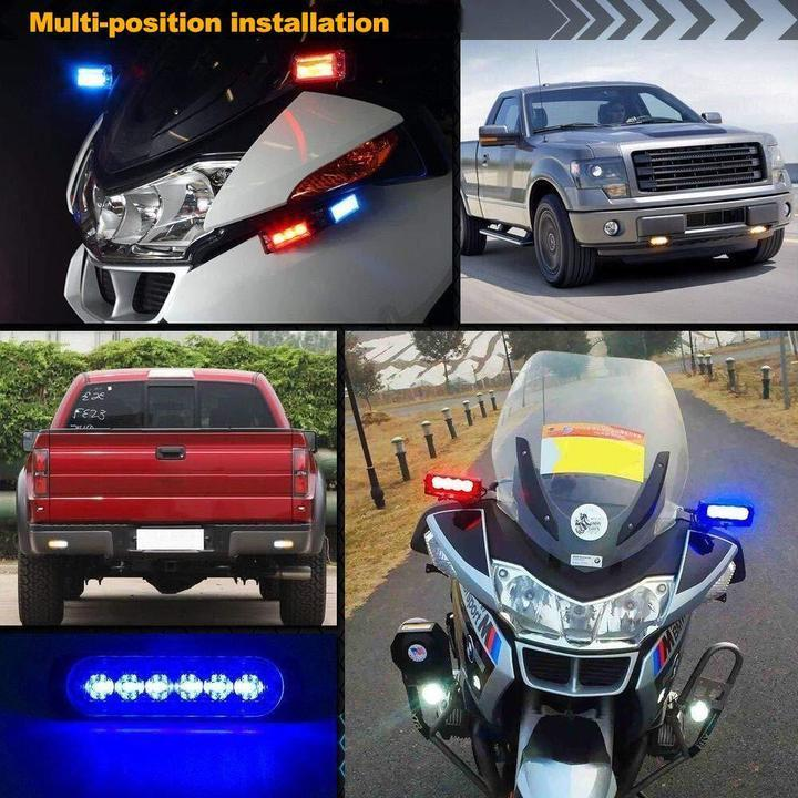 [Factory Outlet 50% OFF]Car Flexible Warning Strobe/Work Light-Waterproof And Easy To Install