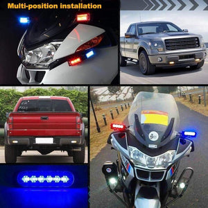 【Factory Outlet 50% OFF】Car Flexible Warning Strobe/Work Light-Waterproof And Easy To Install