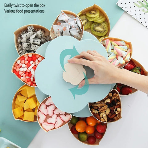 [Buy 2 Free Shipping] Blooming Snack Tray