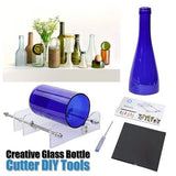 Creative Glass Bottle Cut DIY Tools-Turn Old Bottles And Jars Into Functional Pieces Of Artwork