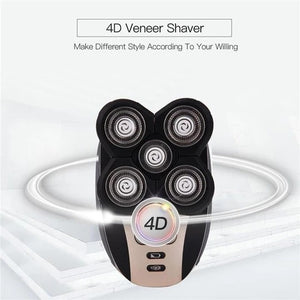 50% OFF ONLY TODAY! 5 IN 1 Premium 4D Electric Shaver