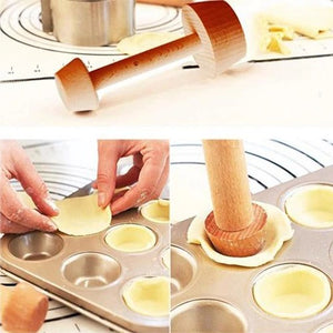 Perfect-Tart Tamper Set - Create beautifully shaped tart dough shells