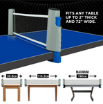 Retractable Ball Net-Let's play football on the table