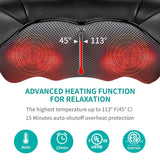 50% OFF EARLY BLACK FRIDAY SALE -Neck and Back Massager with Soothing Heat