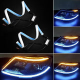 [Factory Outlet 50% OFF] Flexible DRL LED Night & Daytime Running Light Strip