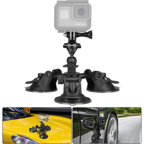 Three-Leg Suction Mount Stabilization Bracket-Bring you a different vision