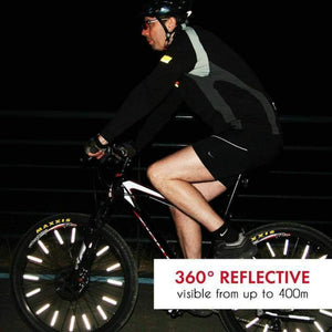 [Factory Outlet 50% Off] Bicycle Wheel Spoke Reflector (12 Pieces)