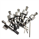 High Speed Steel Sawtooth Hole Opener(1 Set)