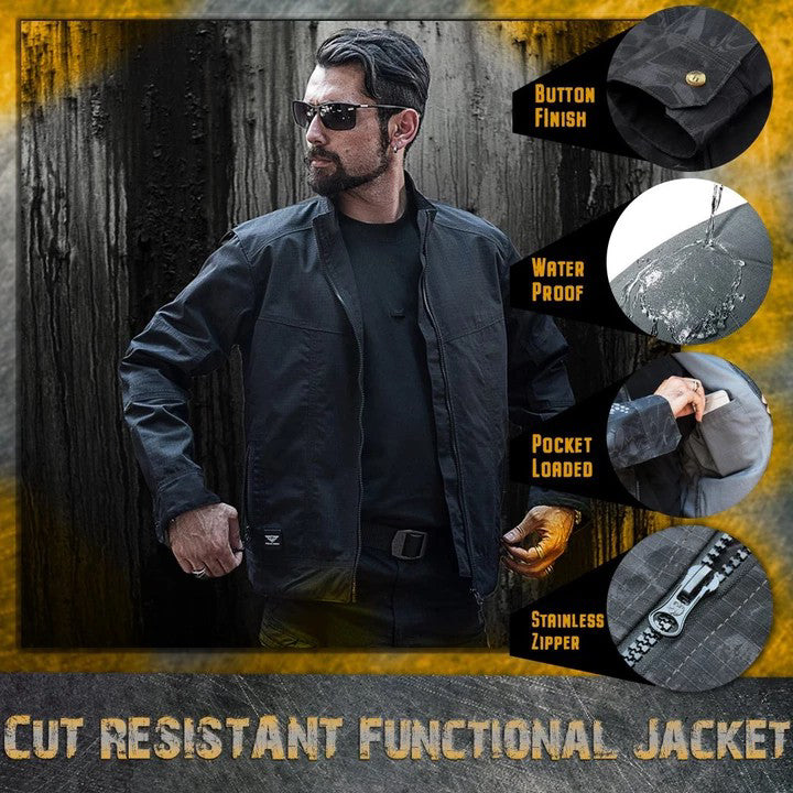 [50% OFF ONLY TODAY]Cut-Resistant Functional Jacket