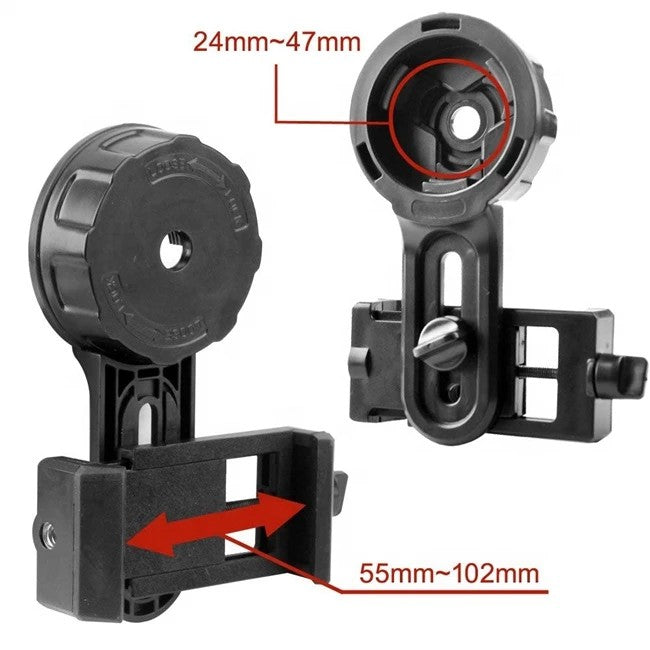 Telescope Binocular Quick Phone Mount