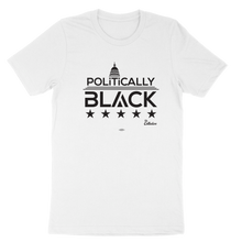 Load image into Gallery viewer, Politically Black T-shirt