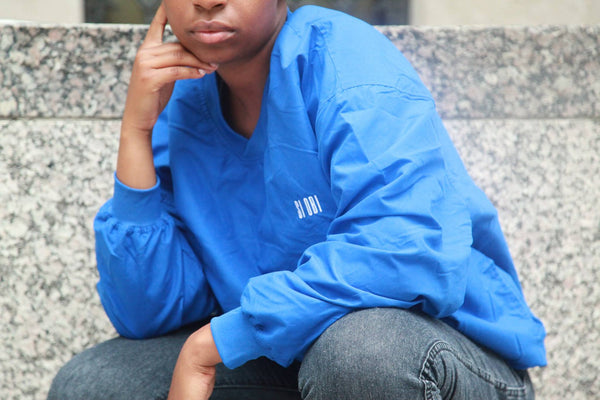 Si Obi Apparel Fall 2017 Blue Windbreaker