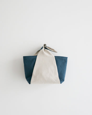 Bow Knot Tote - Blue