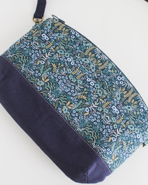 Zipped Crossbody Bag - Menagerie by Rifle Paper Co.