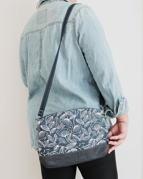 Zipped Crossbody Bag - Forest Animals