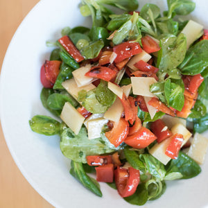 Salad With Stir-Fried Peppers