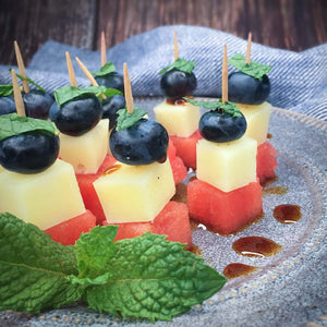 Patriotic Watermelon Skewers