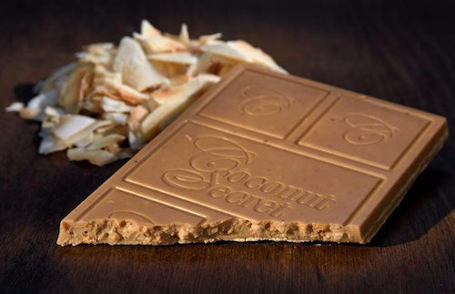 White chocolate crunch bar