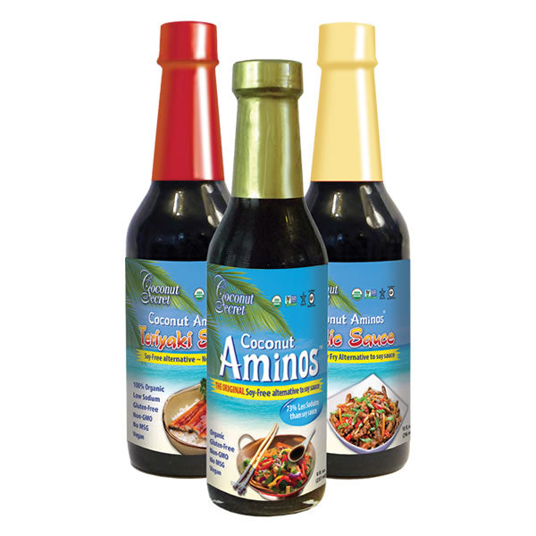 Bundle Pack (Coconut Aminos, Garlic Sauce and Teriyaki Sauce)