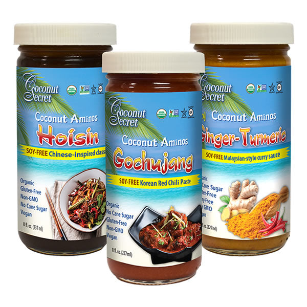 Bundle Pack (Hoisin, Ginger‑Turmeric, Gochujang)