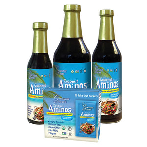 The Original Coconut Aminos (Savings on Bundles of 3 and Full Cases)