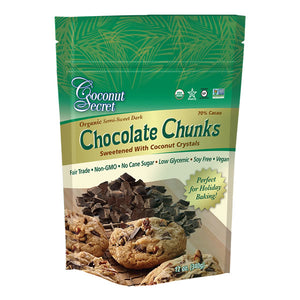 Coconut Secret Chocolate Chunks – 70% Cacao