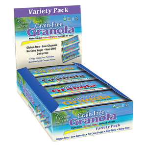 Coconut Secret Grain-Free Granola Bar - Variety Pack