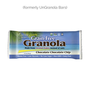 Coconut Secret Grain-Free Granola  Bar - Chocolate, Chocolate Chip
