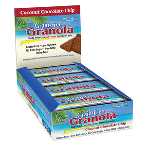 Coconut Secret Grain-Free Granola Bar - Coconut Chocolate Chip