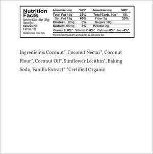 Coconut Secret Grain-Free Granola Bar - Original Coconut
