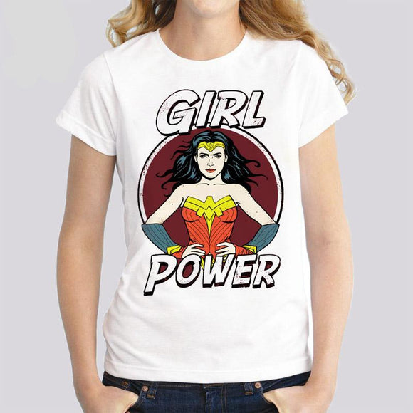Girl Hero Tee shirt
