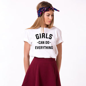 """Girls can do anything"" Tee Shirt"
