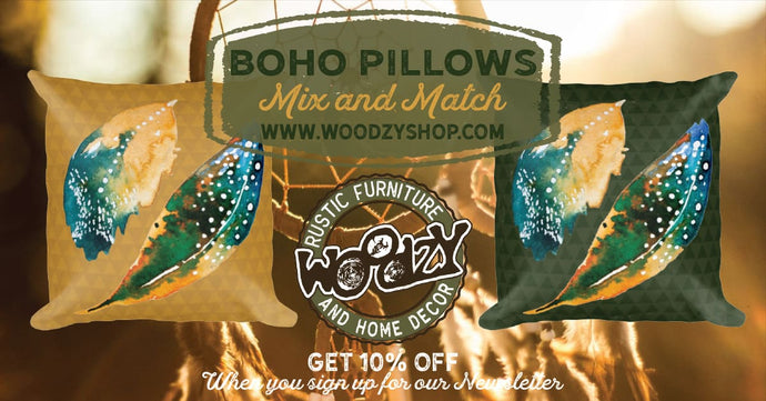 Boho Throw Pillows