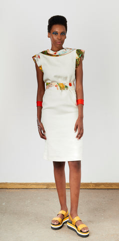 Marlene Steyn - Back Lapel Dress