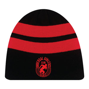 Unisex Acrylic / Fleece Stripe Beanie Toque
