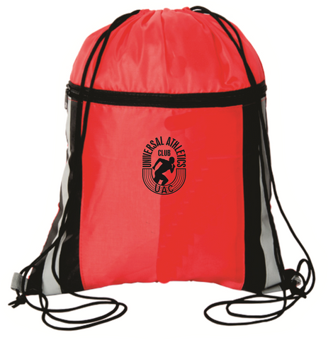 Cinch Dazzler Reflective Drawstring Bag