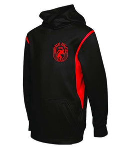 Youth Fleece Varcity Hooded Sweatshirt